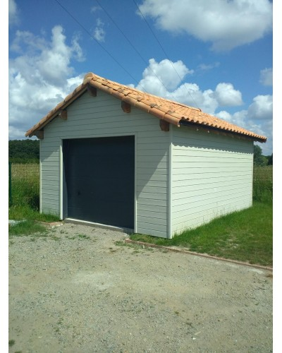 kit garage ossature bois